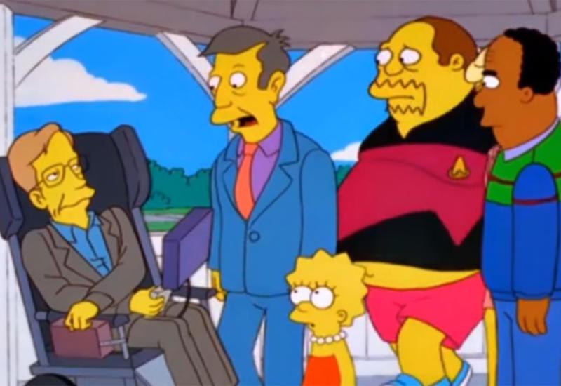 """""""Симпсоны"""" почтили память Стивена Хокинга"""
