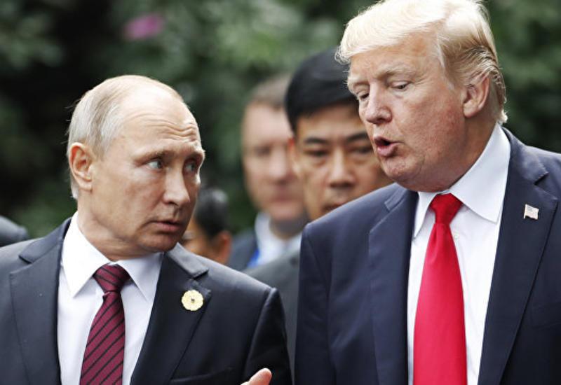В Кремле рассказали, о чем говорили Путин и Трамп