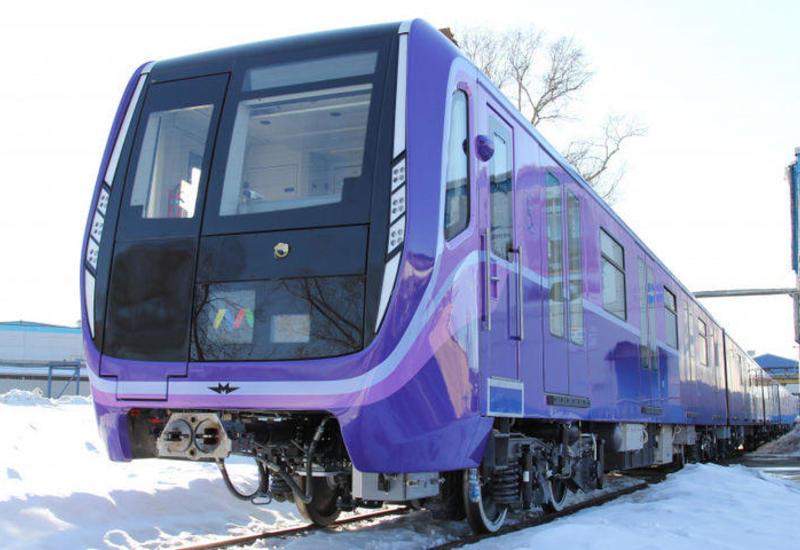 Еще одна партия вагонов для бакинского метро