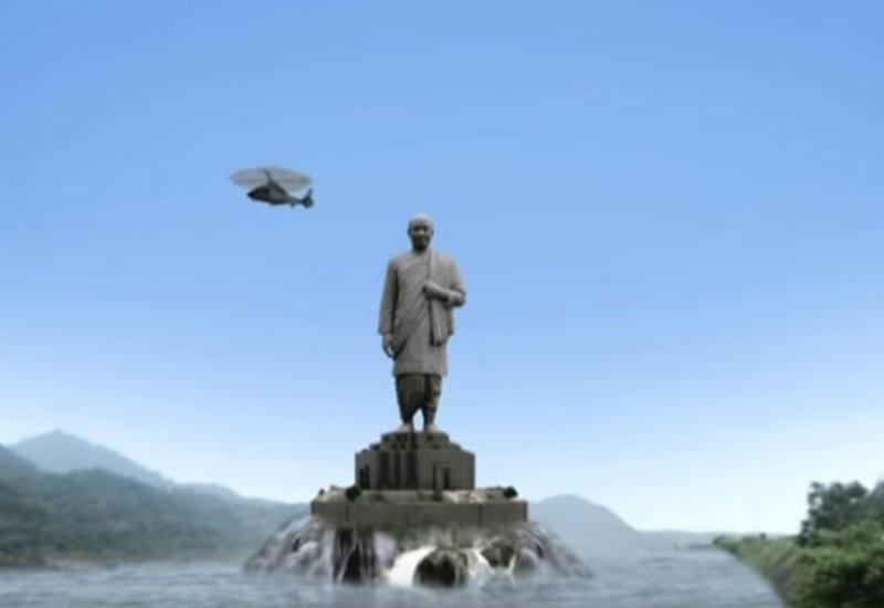 """В Индии достраивают самый большой памятник на свете — в два раза выше статуи Свободы <span class=""""color_red"""">- ФОТО - ВИДЕО</span>"""