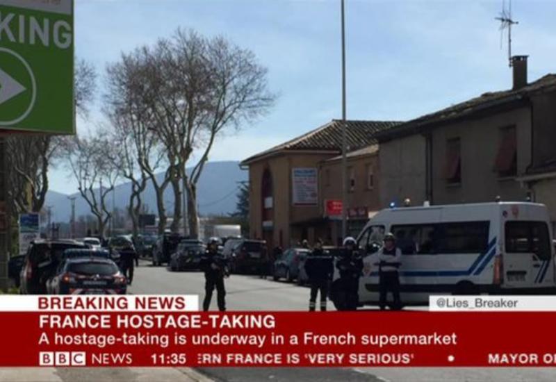 "Захват заложников во Франции <span class=""color_red"">- ФОТО</span>"