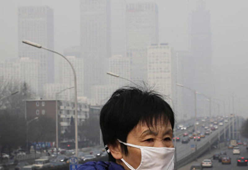 В Пекине ввели оранжевый уровень тревоги