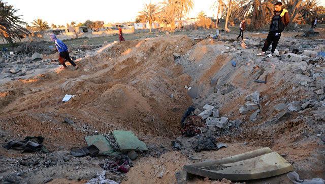 ВВС США нанесли авиаудар близ города Убари вюжной части Ливии