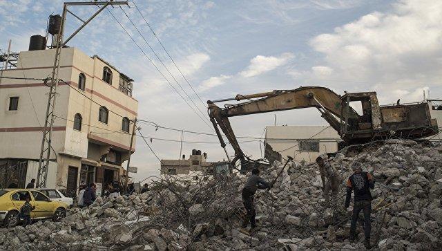 Израильская авиация нанесла удар побоевикам всекторе Газа