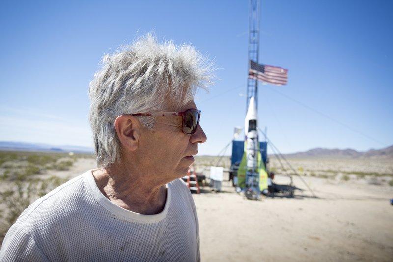 Верящий вплоскую Землю житель америки совершил полет насамодельной ракете