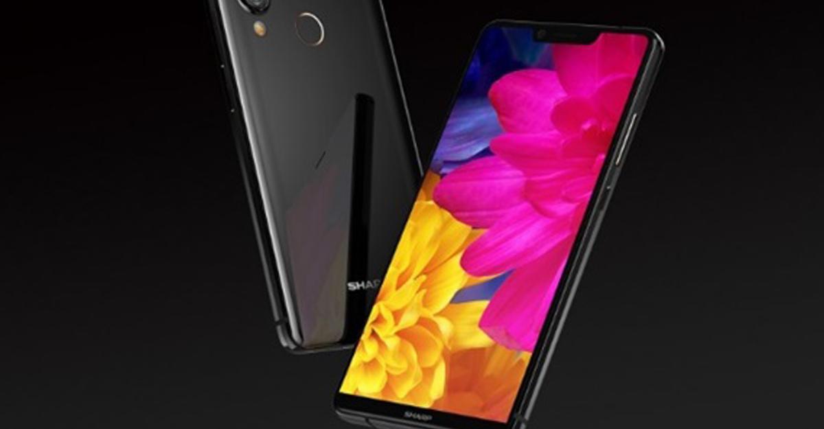 Представлен компактный безрамочный смартфон Sharp Aquos S3