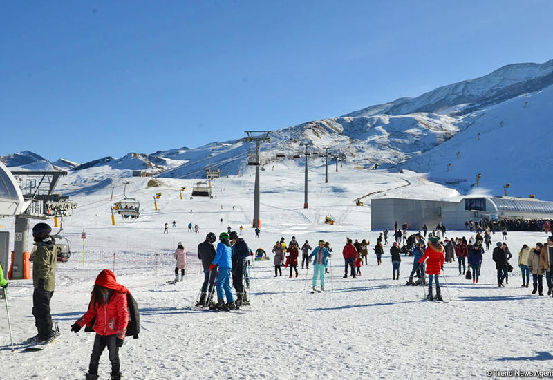 Туркомплекс «Шахдаг» посетило более 120 тыс. туристов