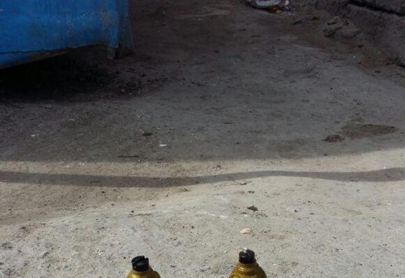 """В Сумгайыте рядом с детсадом найдены неразорвавшиеся ручные гранаты <span class=""""color_red"""">- ФОТО</span>"""