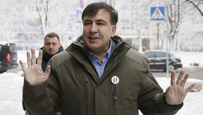 Саакашвили поведал олаже вголове уСавченко