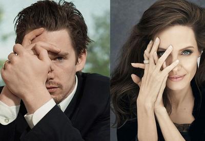 """""""Бабочки в животе"""": Анджелина Джоли вовсю флиртует с женатым коллегой"""