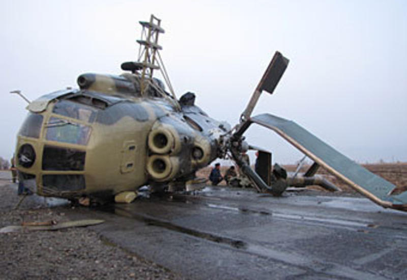 В США разбился военный вертолет, весь экипаж погиб