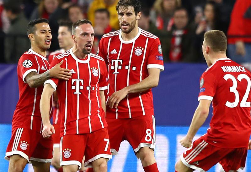 Бавария на выезде победила Севилью в четвертьфинале Лиги чемпионов