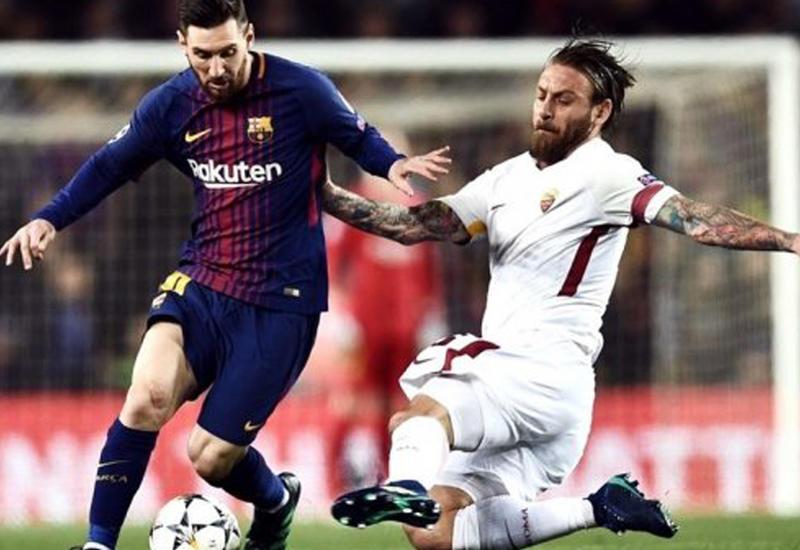 """""""Барселона"""" разгромила """"Рому"""" в матче с двумя автоголами"""