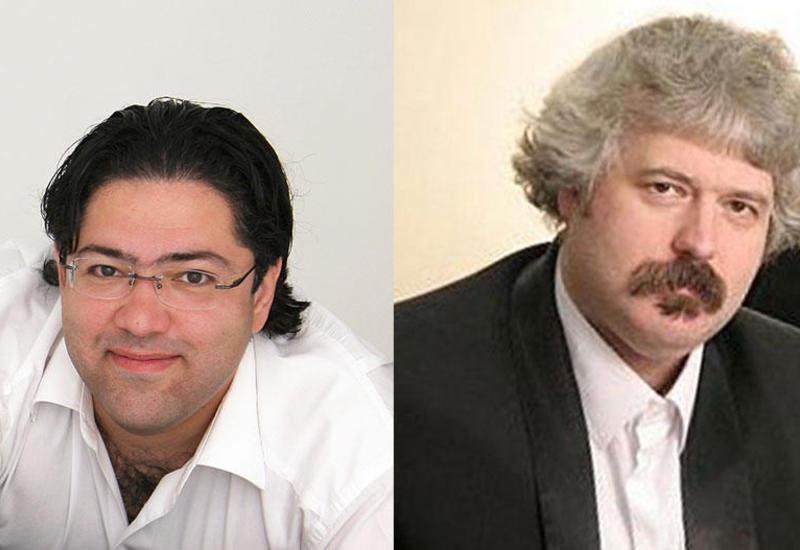 Очередное выступление друзей-пианистов Мурада Адыгезалзаде и Михаила Лидского