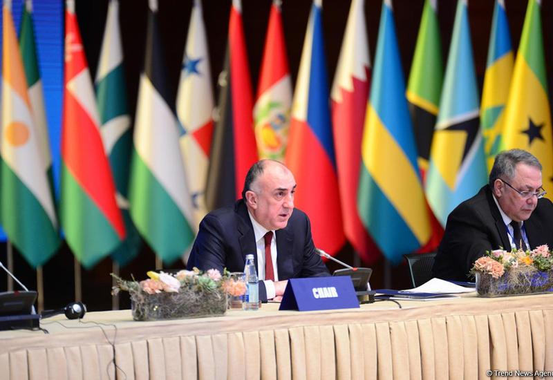 МИД: Сегодняшняя встреча станет мостом для председательства Азербайджана в Движении неприсоединения