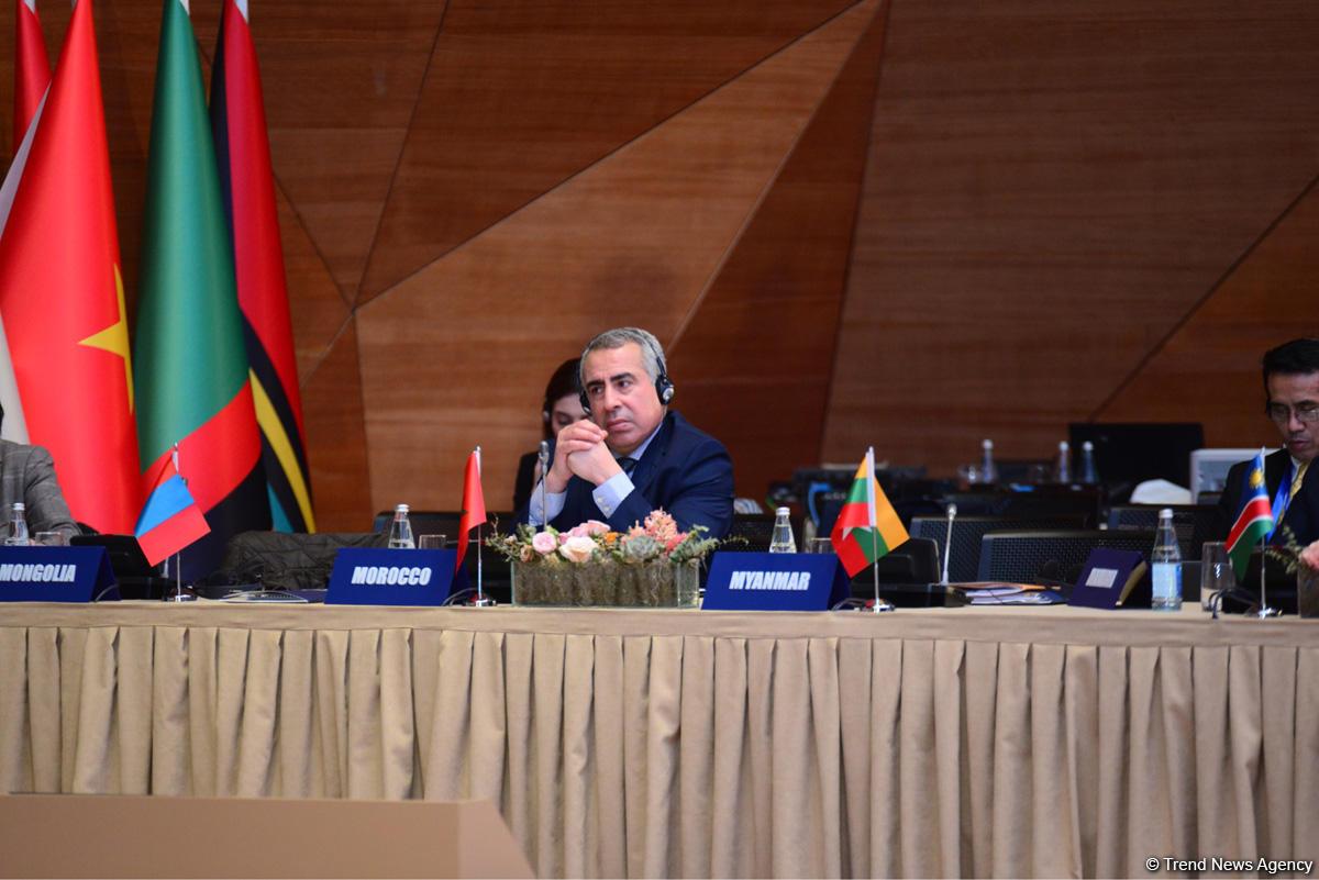 Принята Бакинская декларация промежуточной конференции глав МИД Движения неприсоединения