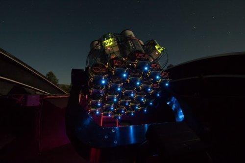 Темная материя должна быть абсолютной черной, сообщили астрономы