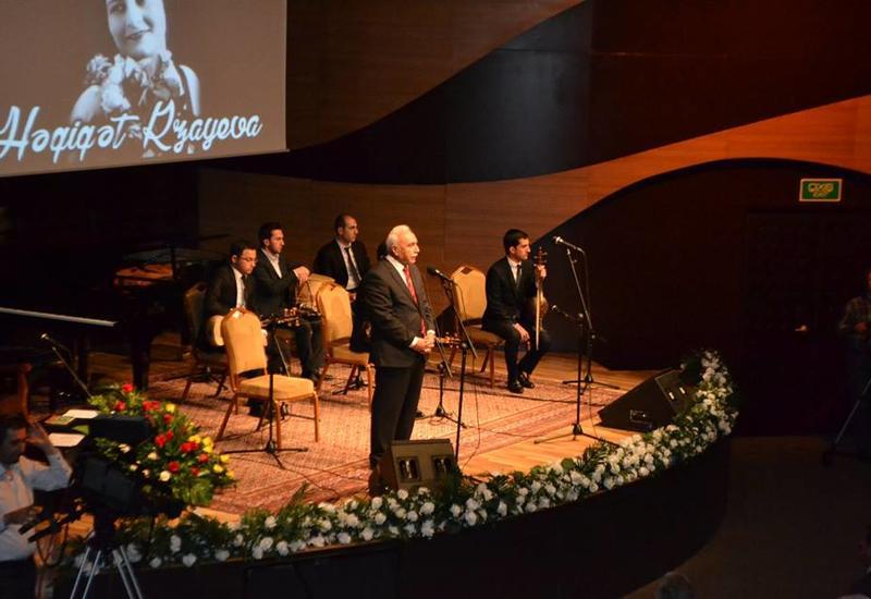 В Центре мугама прошел прекрасный концерт, посвященный творчеству выдающейся ханенде Агигат Рзаевой