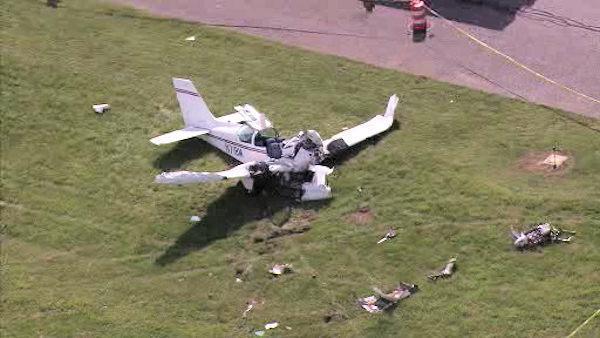 ВАргентине упал легкомоторный самолет, 5 человек погибли