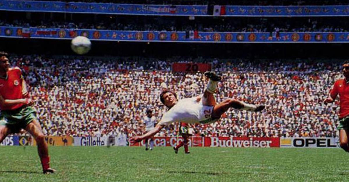 Гол Мануэля Негрете признан лучшим вистории чемпионатов мира