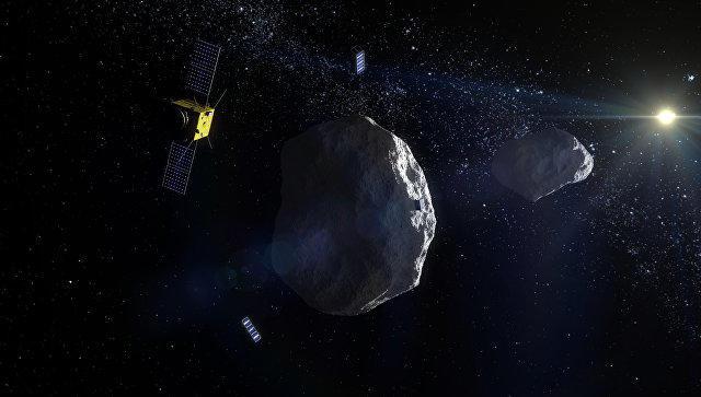 Петербургские ученые посоветовали использовать Луну как щит против астероидов