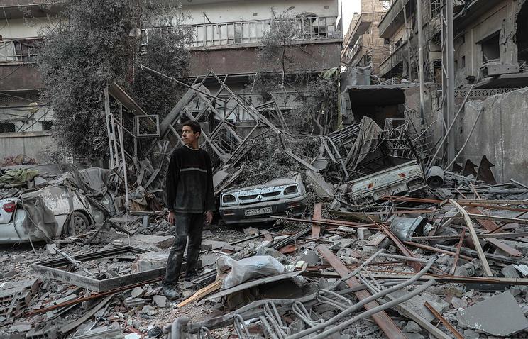 Россия вООН заявила о«постановочном характере» химической атаки вДуме