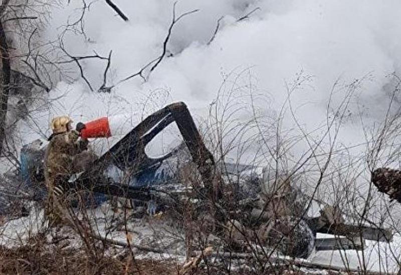 При крушении вертолета в Хабаровске есть погибшие