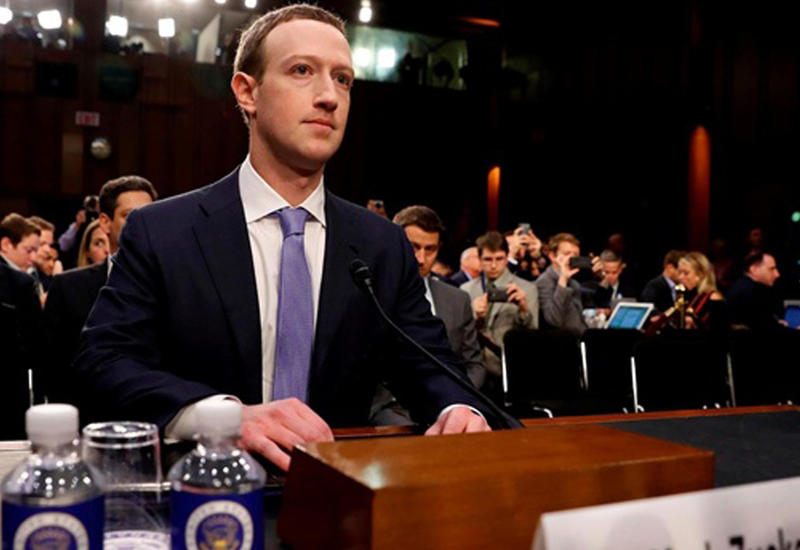 Цукерберг ответил на вопросы сенаторов