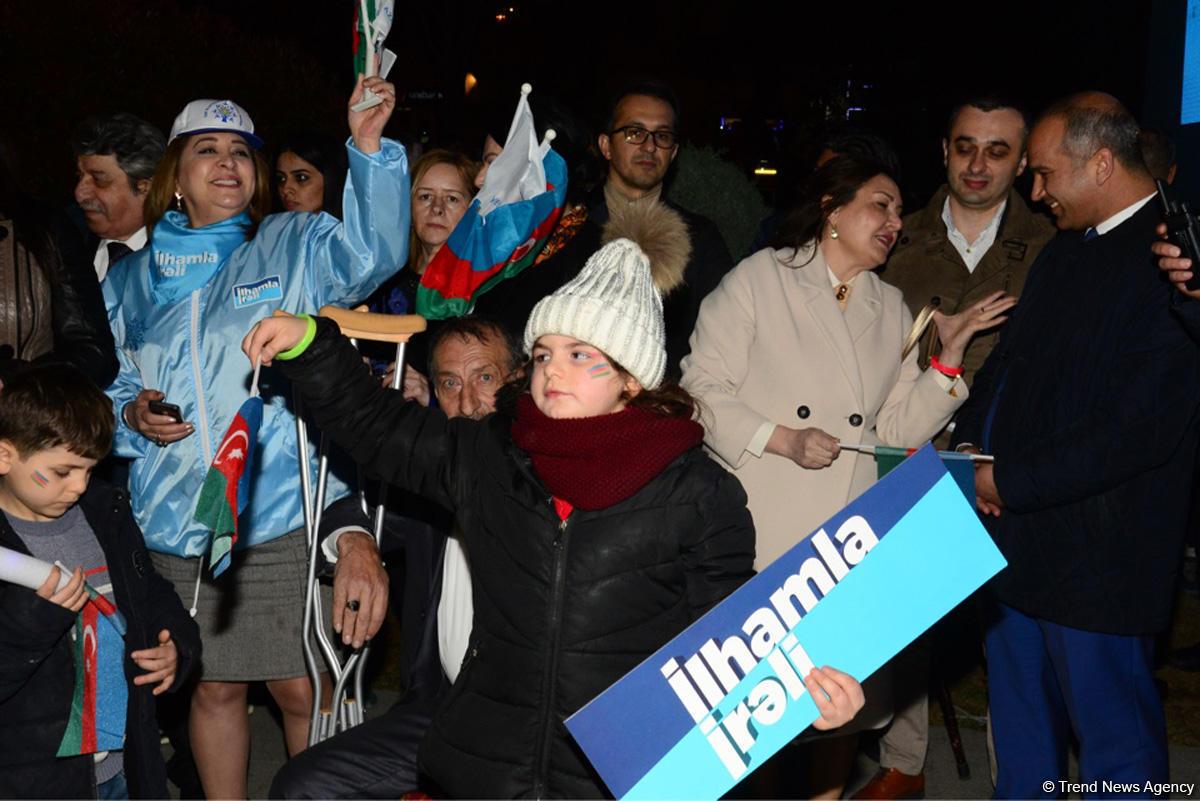 """В Баку состоялся концерт """"Вперед с Ильхамом"""" - ФОТО"""