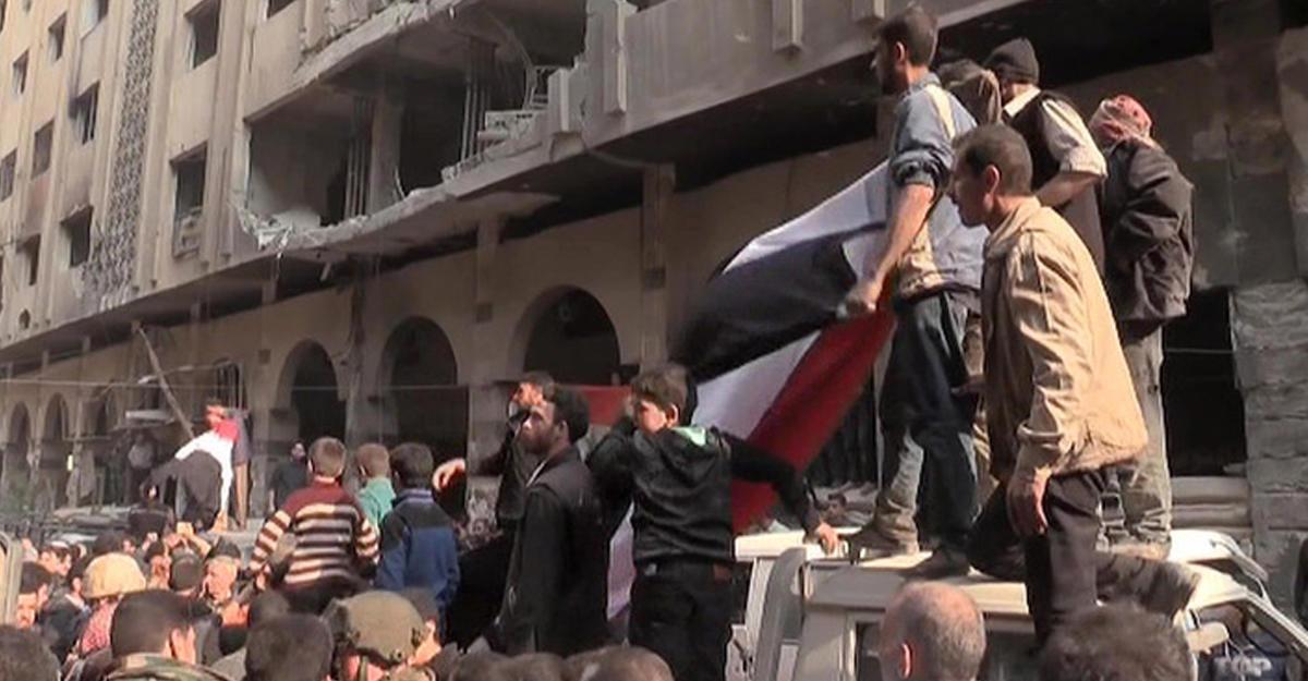 РФготова предоставить ОЗХО транспорт иохрану вСирии