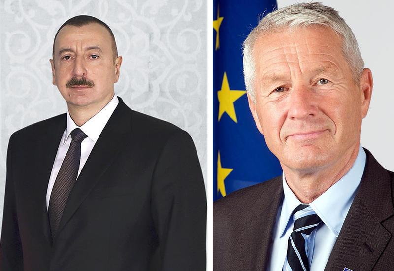 Генсек СЕ поздравил Президента Ильхама Алиева