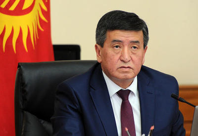 Президент Кыргызстана поздравил Президента Ильхама Алиева