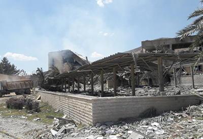 "В США показали снимки ""последствий"" ракетного удара в Сирии <span class=""color_red"">- ФОТО</span>"