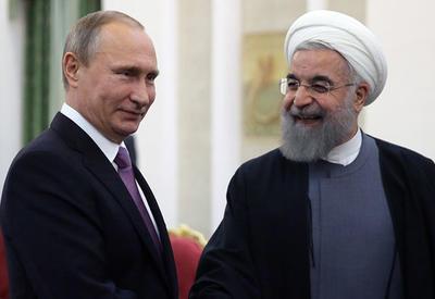Путин и Роухани обсудили ракетный удар США по Сирии