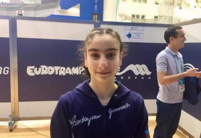 Азербайджанская гимнастка стала пятой на Чемпионате Европы в Баку