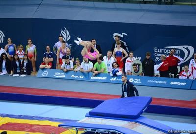 """Лучшие моменты четвертого дня Чемпионата Европы по прыжкам на батуте, двойном мини-батуте и акробатической дорожке <span class=""""color_red"""">- ФОТОРЕПОРТАЖ</span>"""