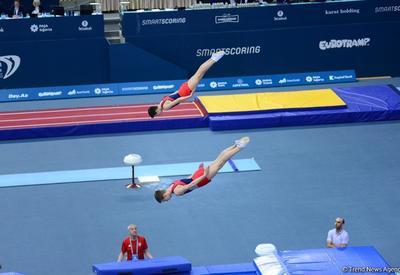 Белорусские юниоры завоевали золото в синхронных прыжках в рамках Чемпионата Европы в Баку