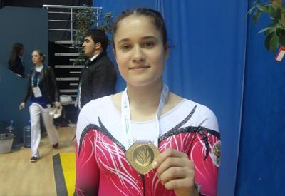 Российская гимнастка: Атмосфера на Чемпионате Европы в Баку просто замечательная