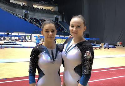 Азербайджанские гимнастки: Безумно рады выиграть медаль на домашнем ЧЕ