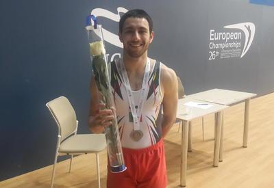 Португальский гимнаст: Для меня счастье выиграть медаль на Чемпионате Европы в Баку