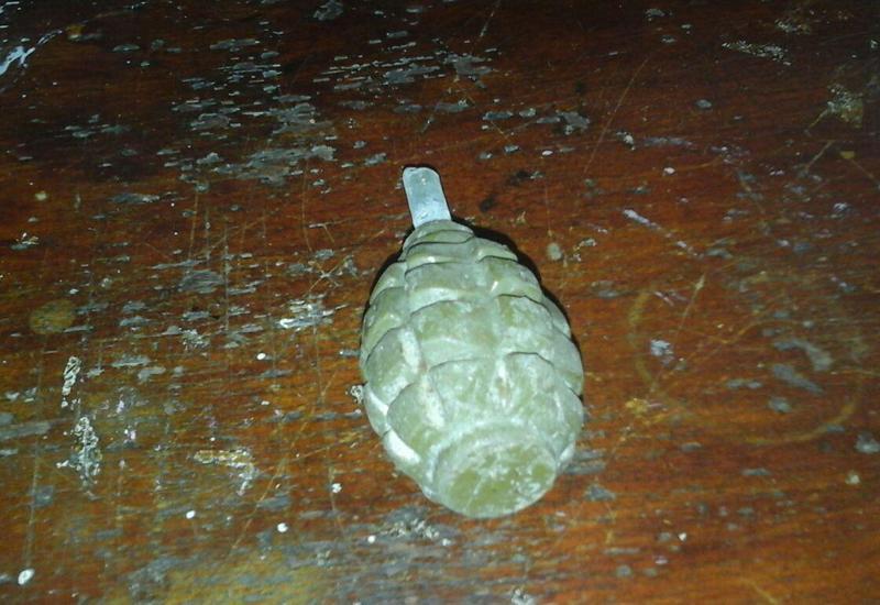 В Геранбое обнаружена ручная граната