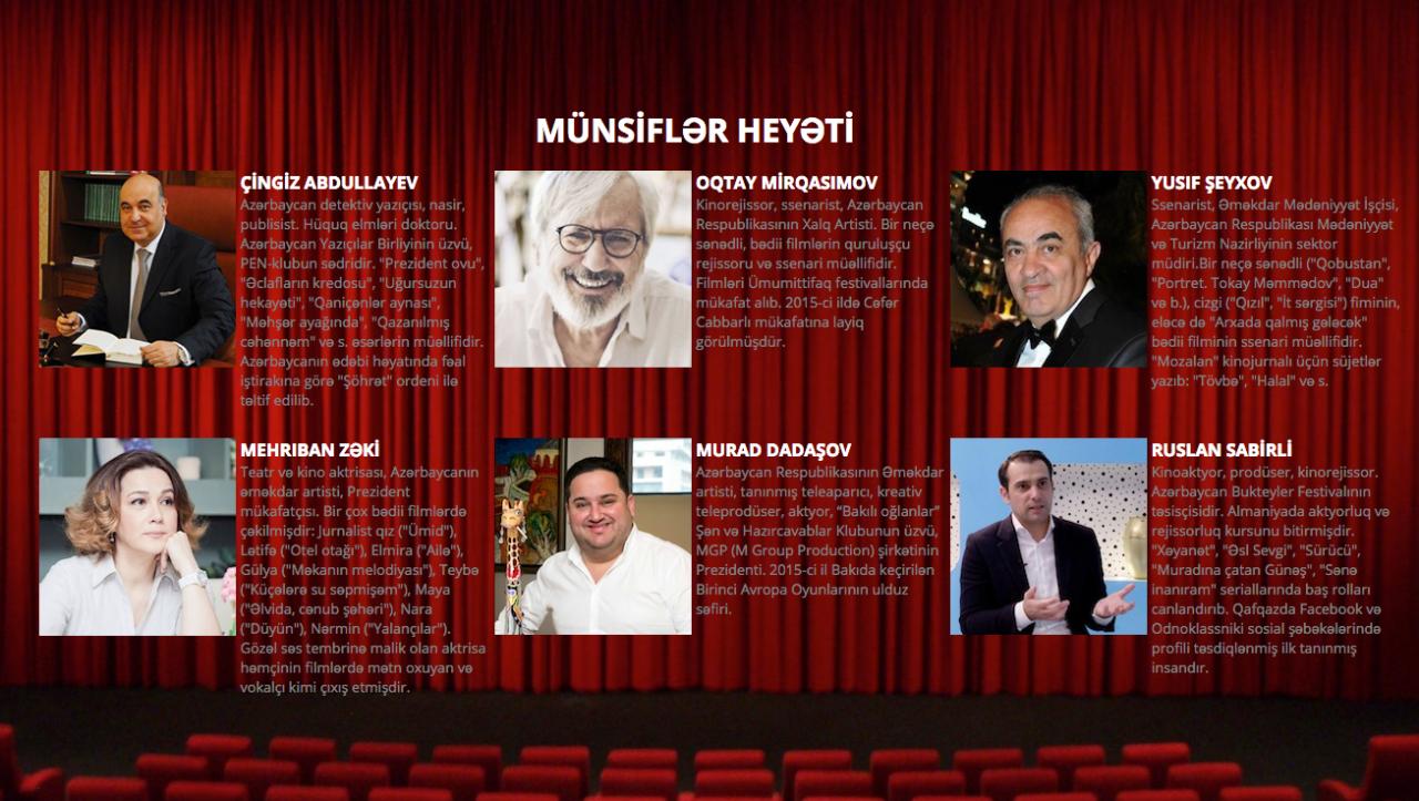 Назван состав жюри третьего Фестиваля буктрейлеров в Азербайджане