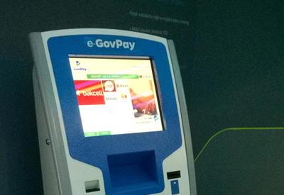 В платежных терминалах Баку появилась новая функция