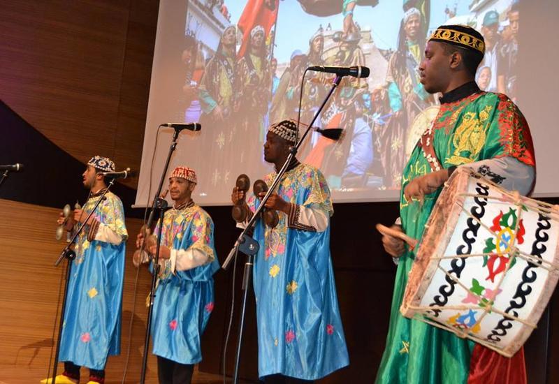 """Международный Центр мугама представил яркий концерт марокканской этнической музыки Гнава <span class=""""color_red"""">- ФОТО</span>"""