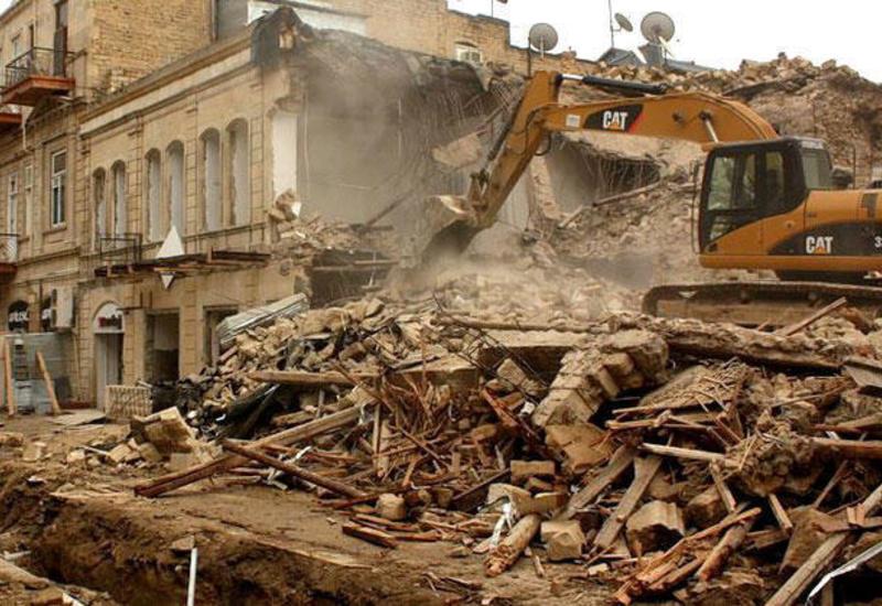 """В Баку начнется второй этап масштабного сноса жилых домов <span class=""""color_red""""> - ПОДРОБНОСТИ</span>"""