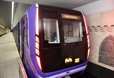 В бакинском метро вводятся в эксплуатацию новые современные поезда