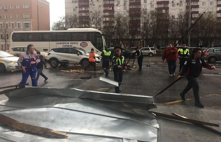 Собянин поведал опострадавших в итоге урагана в столицеРФ