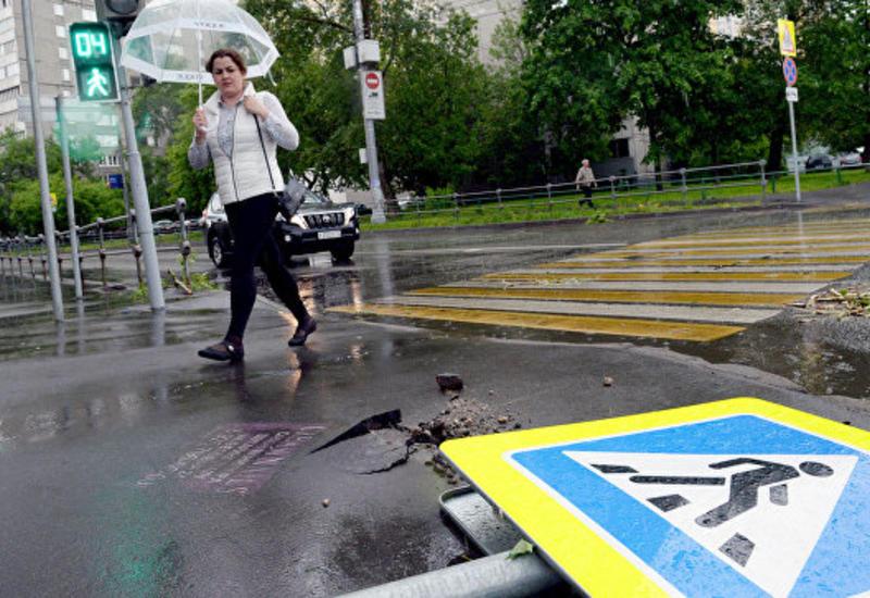 По Москве прошла вторая волна урагана