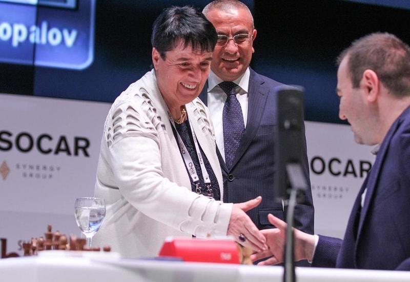 """Легендарная грузинская шахматистка восхищена супертурниром в Азербайджане <span class=""""color_red"""">- ПОДРОБНОСТИ</span>"""