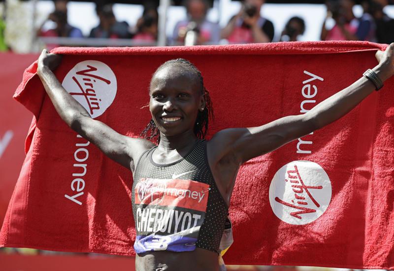 Кенийская бегунья Черуйот стала победительницей Лондонского марафона